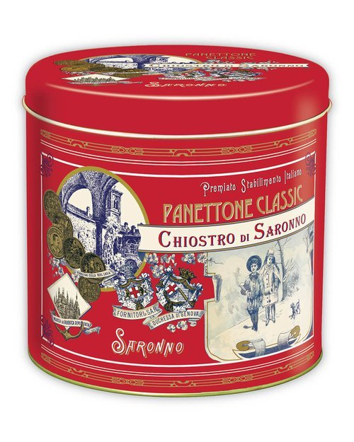 Classic Panettone in Red Gift Tin