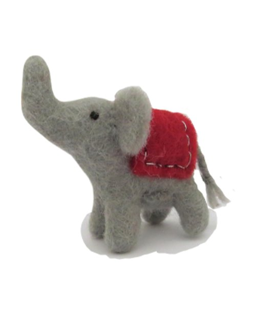 Mini Elephant with Coat