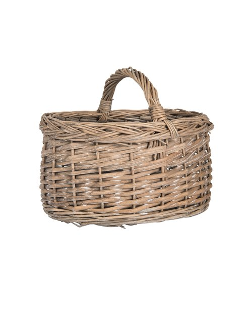 Willow Wicker Mini Basket with Handle