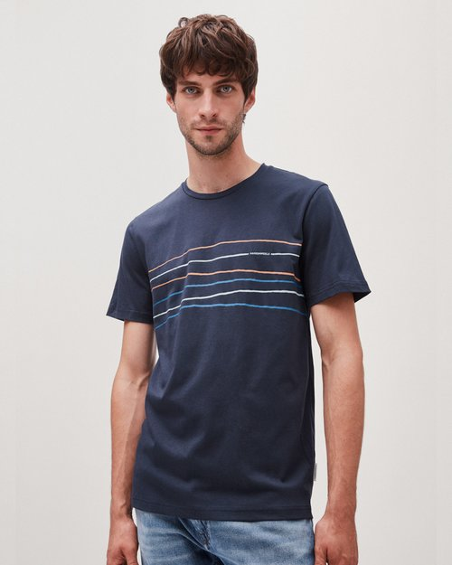 Jaames Crooked Lines Tee-Shirt