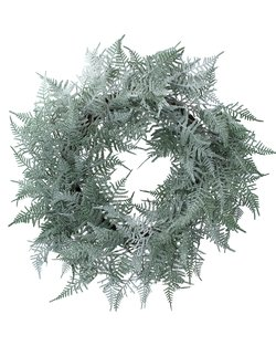Two Tone Green Fern Wreath