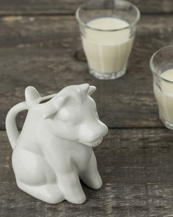 Large Cow Shaped Milk Jug