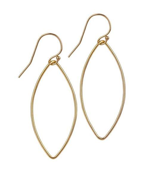 14kt Gold Filled Medium Oval Earrings