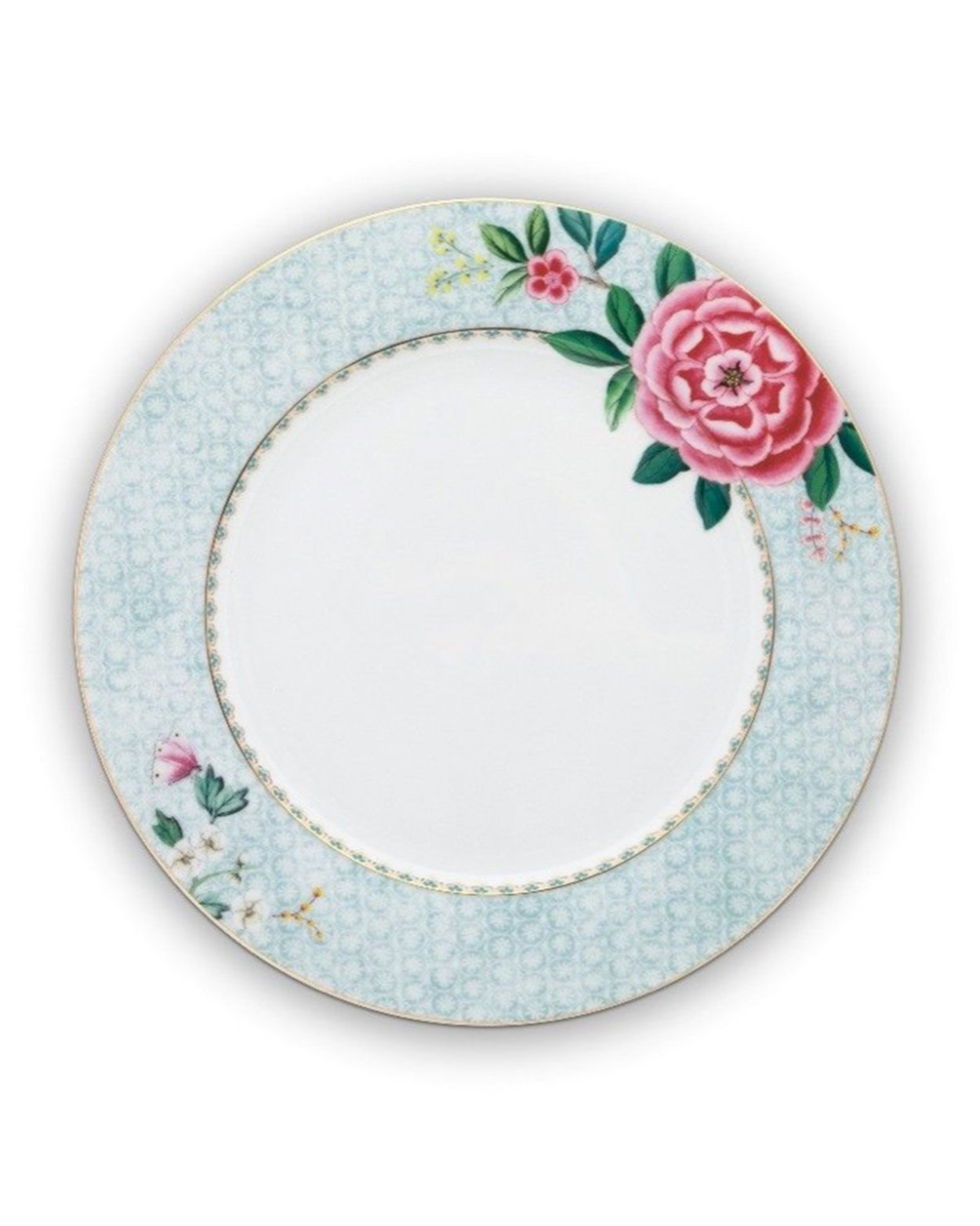 Blushing Birds Plate - White - 26.5cm