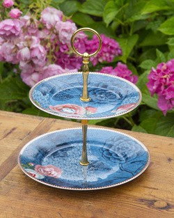 Pip Spring to Life Cake Stand in Blue