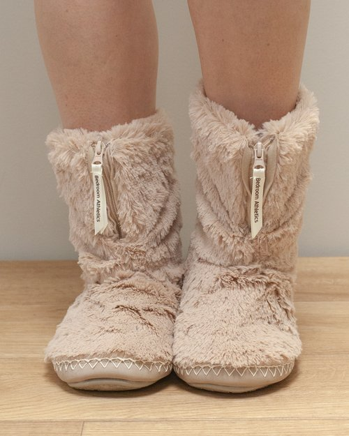 Marilyn Faux Fur Slipper Boot