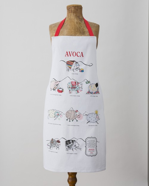 Sheep Through the Ages Apron