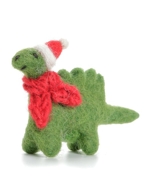 Mini Diplodocus with Hat & Scarf