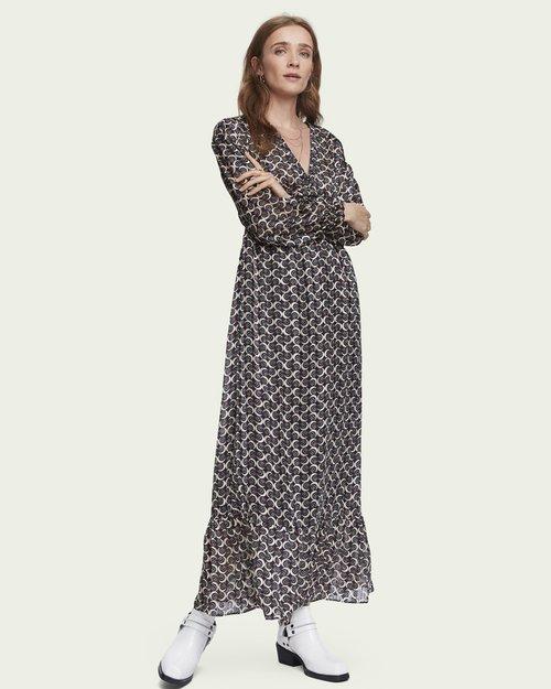 Sheer Feminine Maxi Dress