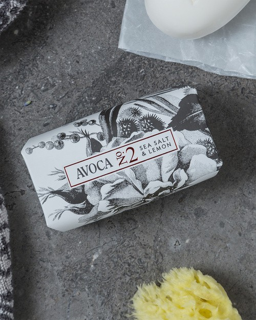 Avoca No 2 Soap - Sea Salt & Lemon 150g