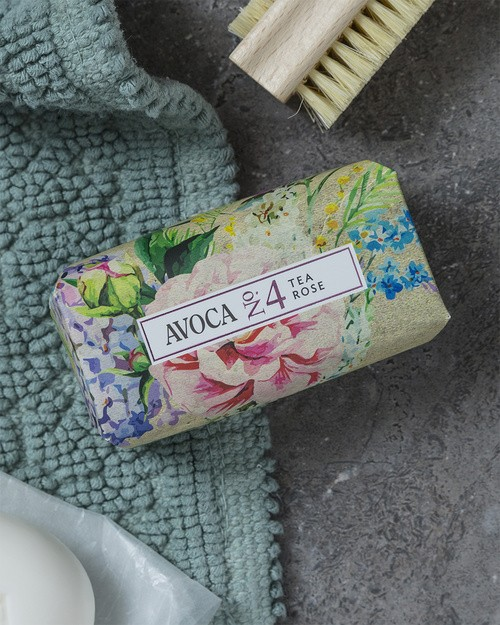 Avoca No 4 Soap - Tea Rose