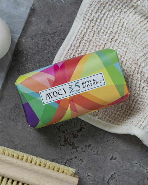 Avoca No 5 Soap - Mint & Rosemary 150g