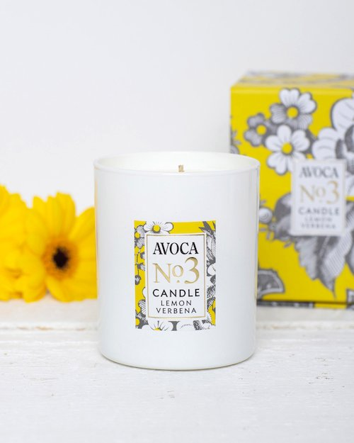Lemon Verbena Scented Candle