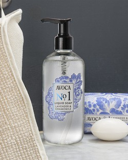 Avoca No 1 Liquid Soap - Lavender & Chamomile
