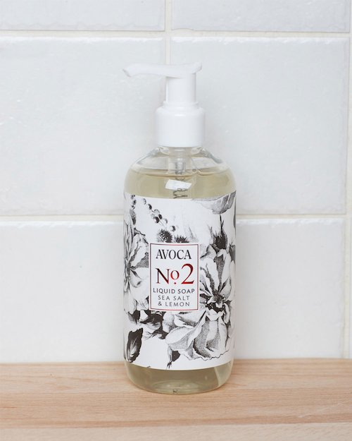 No. 2 Sea Salt & Lemon Liquid Soap
