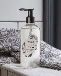 Avoca No 2 Liquid Soap - Sea Salt & Lemon