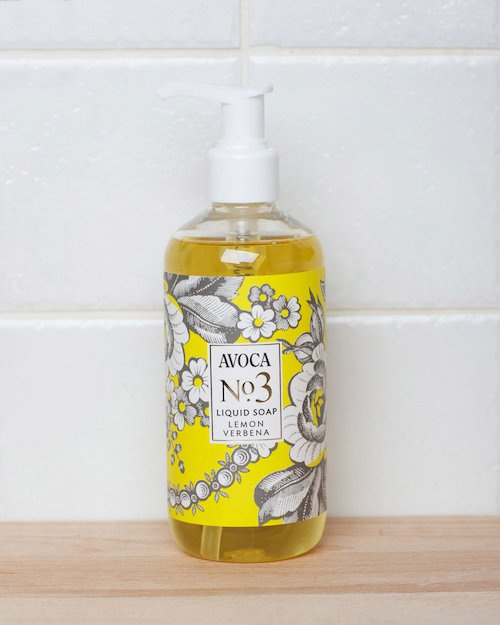 No. 3 Lemon Verbena Liquid Soap