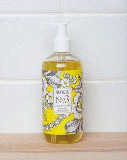 Avoca No 3 Liquid Soap - Lemon Verbena