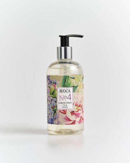 No. 4 Tea Rose Liquid Soap