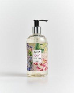 Avoca No 4 Liquid Soap - Tea Rose