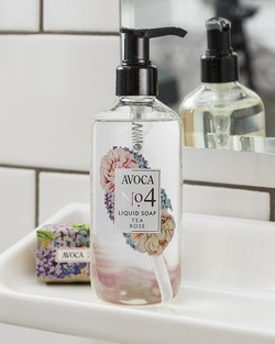 Avoca No 4 Liquid Soap - Tea Rose