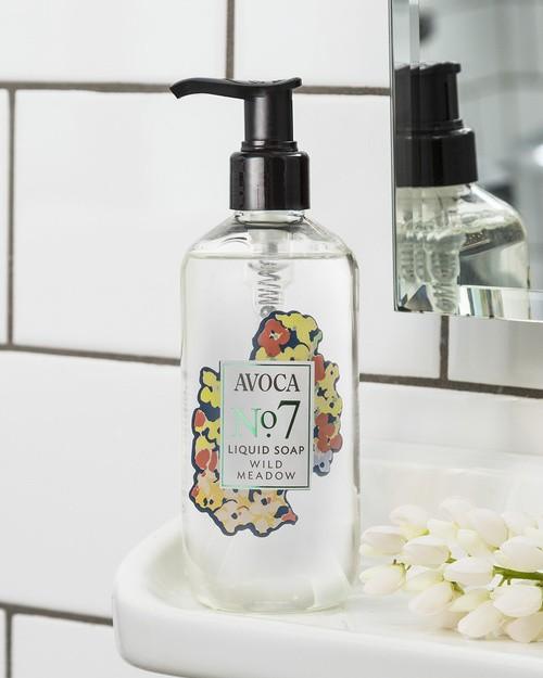 Avoca No 7 Liquid Soap - Wild Meadow