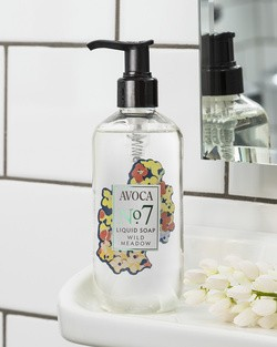 Avoca No 7 Liquid Soap - Wild Meadow