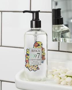 No. 7 Wild Meadow Liquid Soap