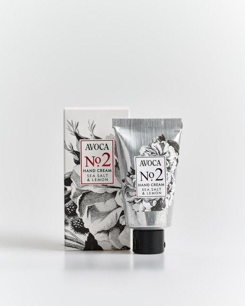 Avoca No 2 Hand Cream - Sea Salt & Lemon