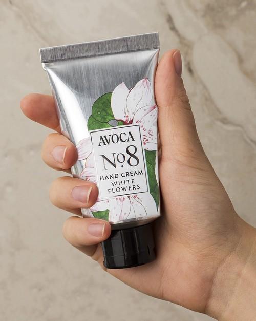 Avoca No 8 Hand Cream - White Flowers