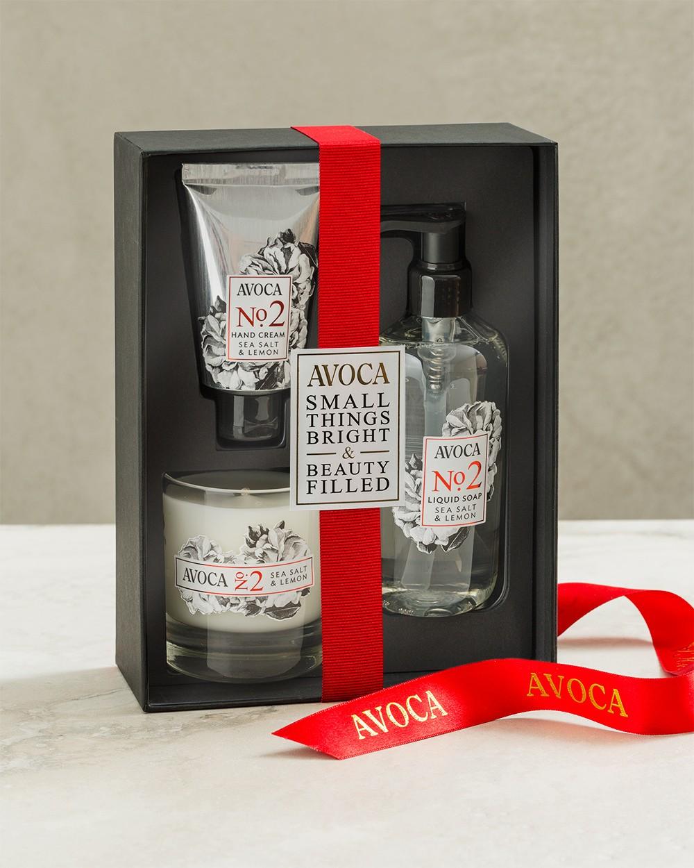 Sea Salt and Lemon Gift Set