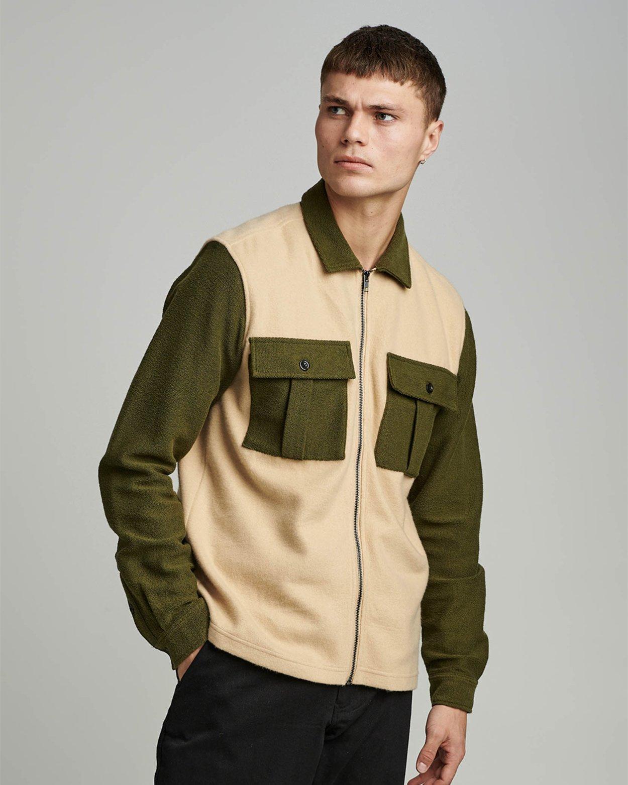 AKHenry Block Fleece Jacket