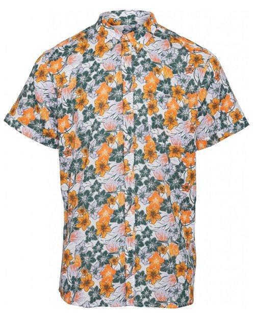 Elder Short Sleeve Flower Shirt
