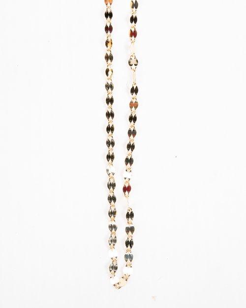 9kt Gold Diamond Cut Chain