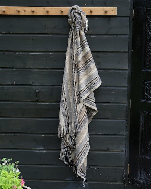 Artisan Stripe Throw