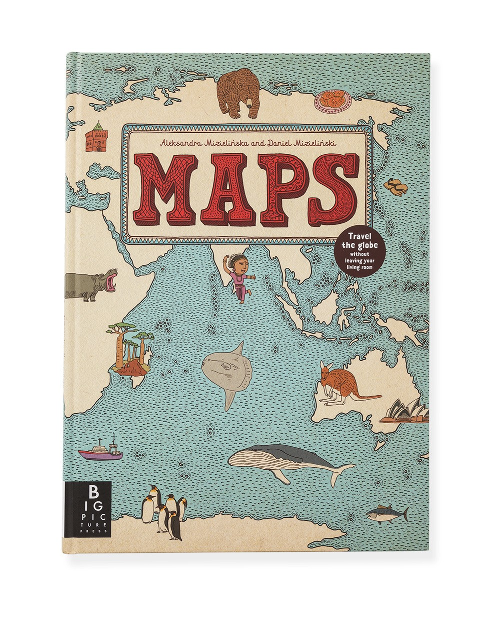 Maps by Aleksandra and Daniel Mizielinska