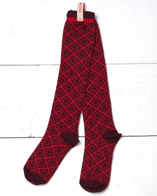 Bamboo Glitter Knee Sock