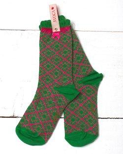 Bamboo Glitter Ankle Sock