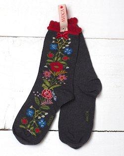 Floral Rosa Ankle Sock