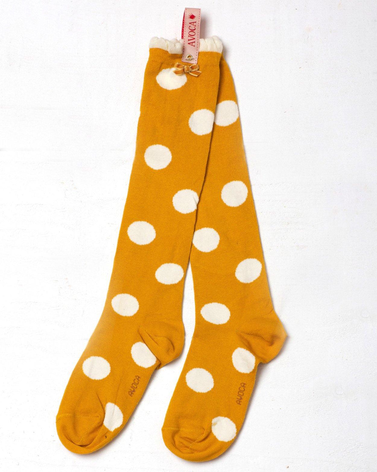 Polka Dot Knee Socks