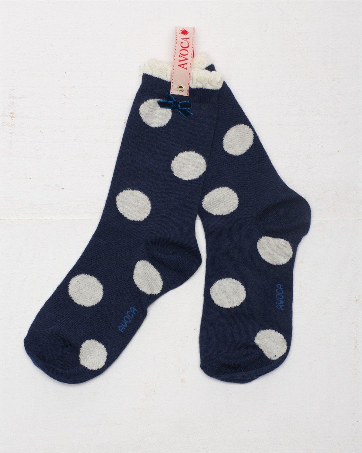 Polka Dot Ankle Socks