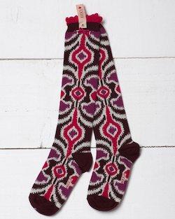 Ikat Knee Sock