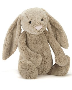 Extra Large Bashful Bunny in Beige