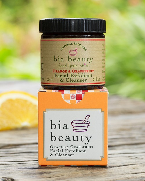 Bia Beauty Facial Exfoliant & Cleanser - Orange & Grapefruit