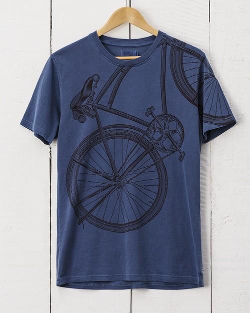 Bike T-Shirt - Blue