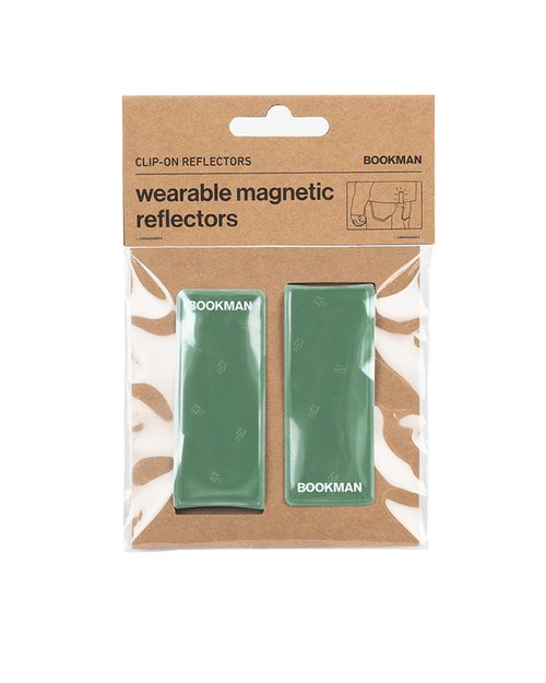 Clip-On Reflectors - Green