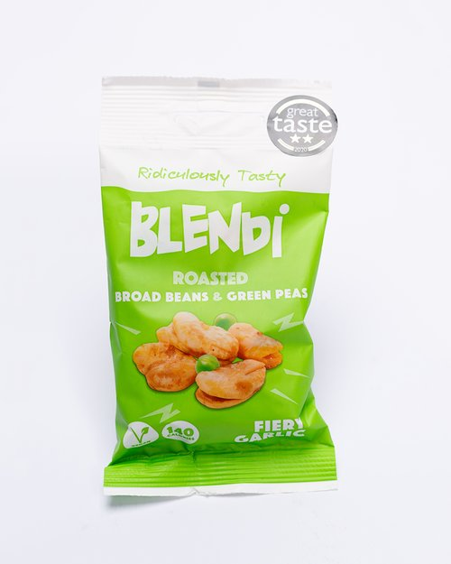 Blendi Snacks Fiery Garlic Broad Beans