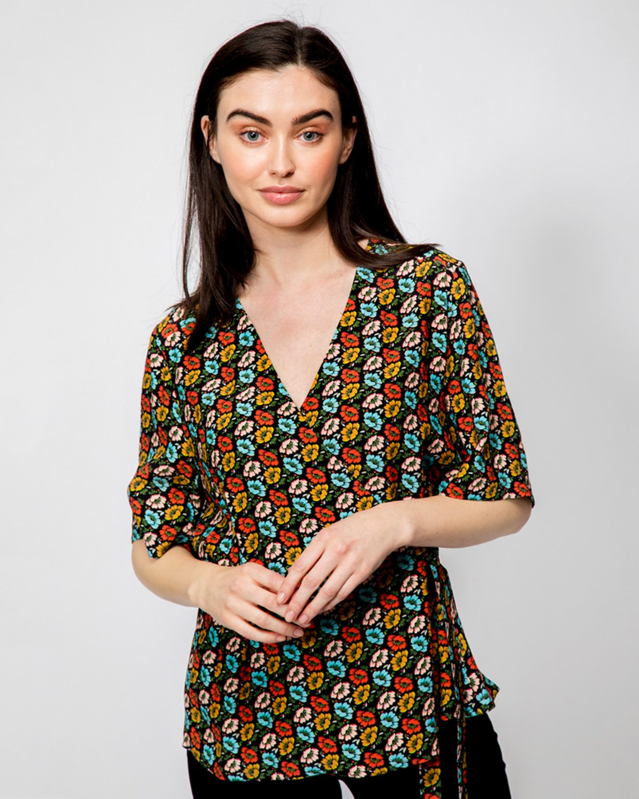 Wrap-over Blouse