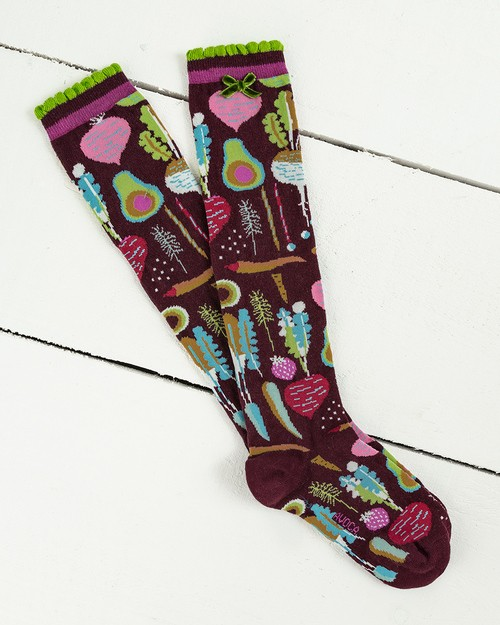 Kitchen Garden Knee Socks