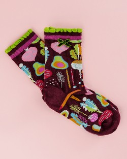 Kitchen Garden Ankle Socks